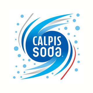 「カルピスソーダ(Calpis Soda)」ロゴマーク